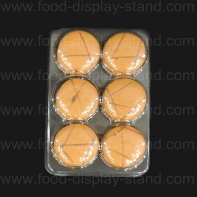 Macaron plastic tray