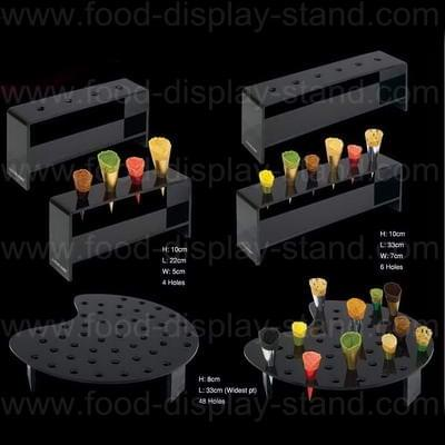 Ice cream cone display stand