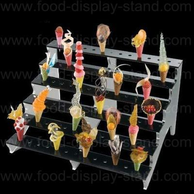 Ice cream cone rack