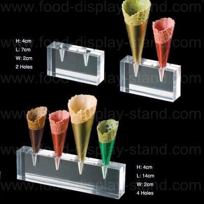 Acrylic cone holder