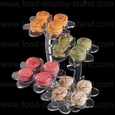 Acrylic macaron stand