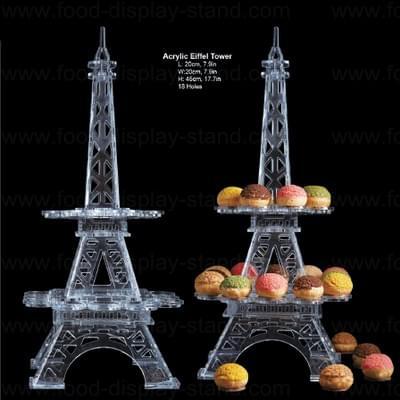 Eiffel tower macaron stand